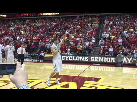 Iowa State star Georges Niang with emotional Senior Night speech