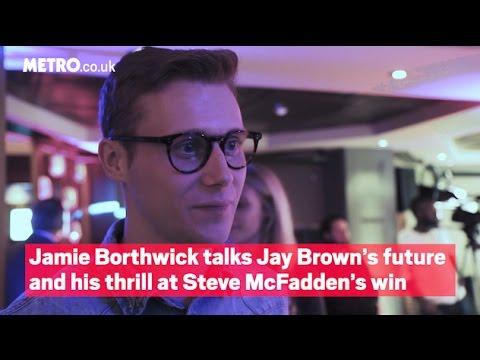 Jamie Borthwick talks Jay Brown's future and his thrill at Steve McFadden's win  Metro.co.uk