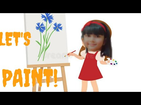 simple scenery drawing| how to draw simple landscape| kids painting | kids painting step by step