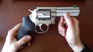 Ruger GP100: Super reliable, build like a tank (.357 Magnum revolver)
