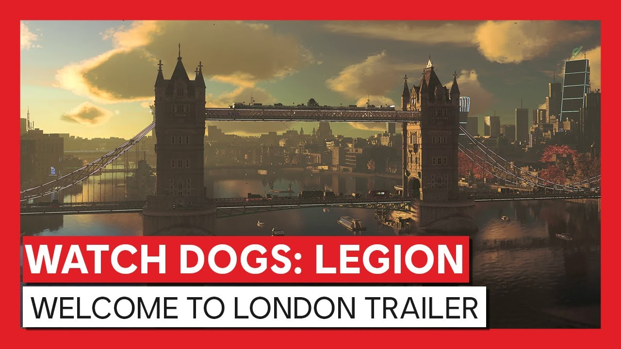 Watch Dogs: Legion - Welcome to London Trailer | Powered by NVIDIA GeForce RTX