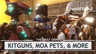 Warframe: All Fortuna Items Analyzed - Kitguns, Moa Pets & More [thedailygrind]