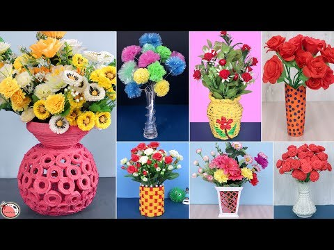 7 Best Out of Waste Flower Pot Idea   DIY Projects   Handmade Things