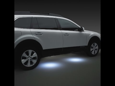📌DIY: LED Puddle Lights - Subaru📶⬅⬅