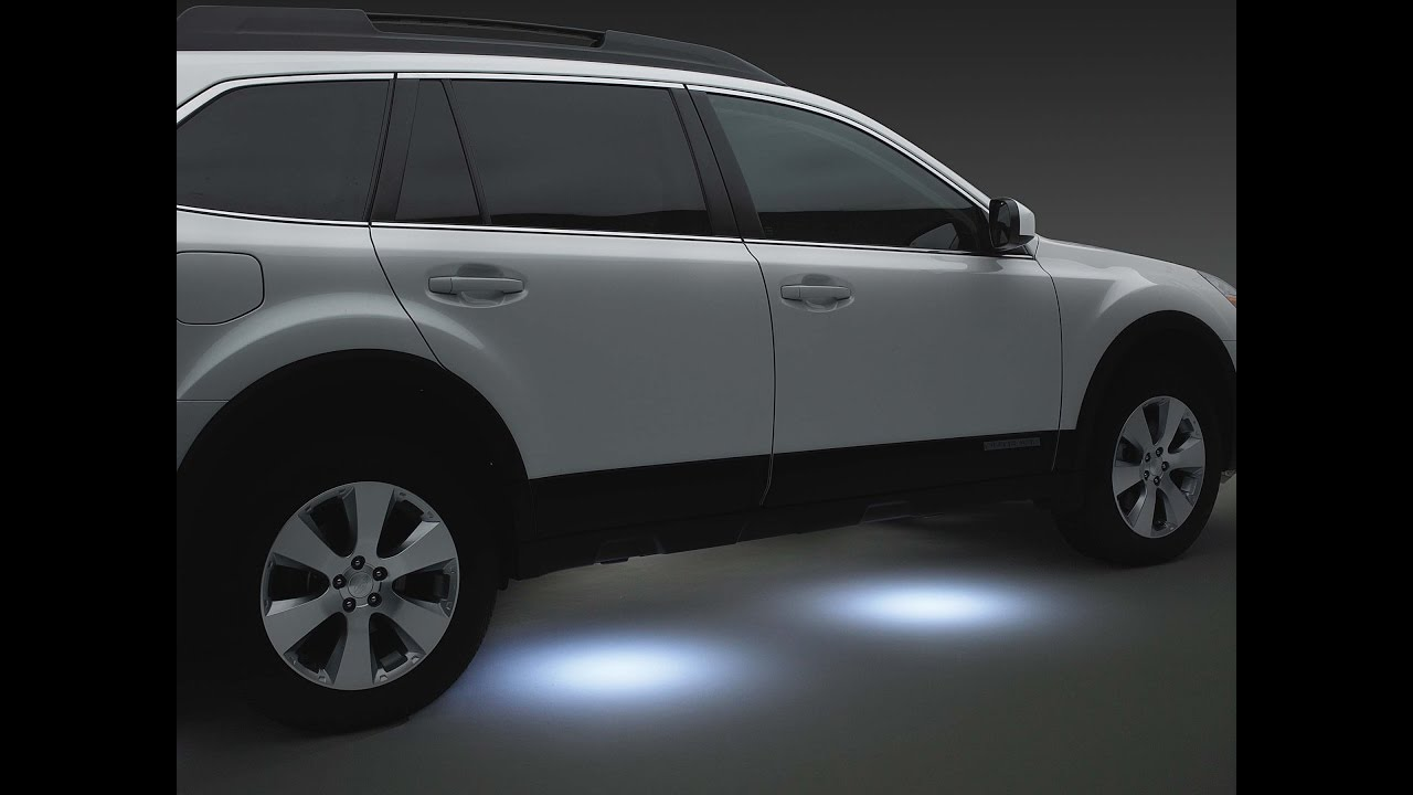 📌diy: led puddle lights - subaru📶⬅⬅