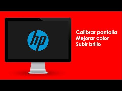Calibrar/Mejorar color y brillo de pantalla HP| Compaq Pantalla/Screen Led 2015