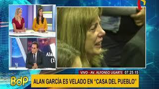 """Gonzales Posada: """"Alan me dijo jamás me dejaré enmarrocar y humillar"""""""