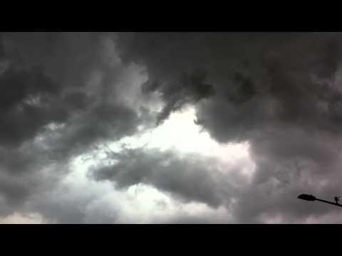 Storm Overhead at Owensboro's International Bar-B-Q Festival