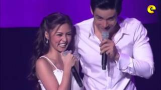 Xian Lim Steals Kiss From Kim Chiu At Concert