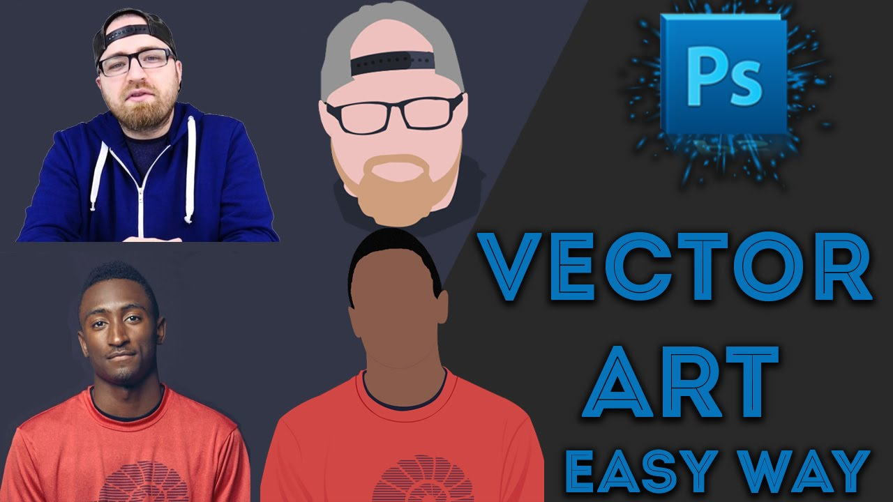 Best easy vector vexel art tutorials for photoshop hindi youtube baditri Images