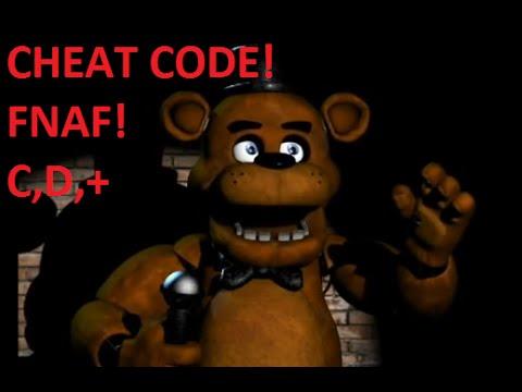 fnaf 3 cheat codes