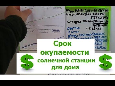 Срок окупаемости солнечной станции для дома,цена бытовой станции,Киеве,Одессе,(096)2629848