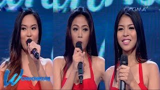Wowowin: Super wow answers by Ms. Wow 2016 candidates