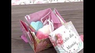 Caixa de dobradura com sabonetes – 2da parte