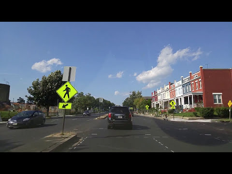 Driving From Washington DC To Silver Spring,Maryland