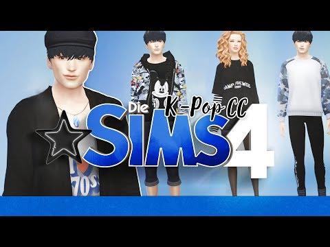 Create-a-Sim K-Pop Custom Content 💗 Let's Play DIE SIMS 4