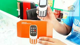 Nokia 3310 (2017) First Look and Hands on/ black nokia 3310