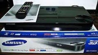 Samsung BD-F5900 Blu-ray Player Set-by-Step Setup