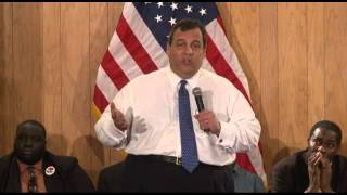 Governor Christie: My First Job Is For New Jersey Not My Political Party