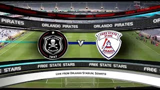 Absa Premiership 2017/18  - Orlando Pirates vs Free State Stars