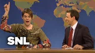 Weekend Update: Stefon on Holiday Travel - Saturday Night Live