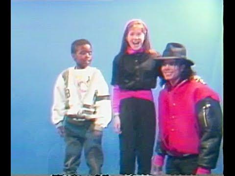 Michael Jackson 1990 at Capital Children's Museum, Washington DC