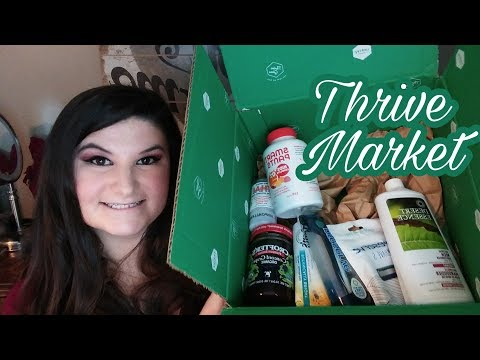 Thrive Market Haul #3 | Valerie Dison | Health Food Brands | Natural Products
