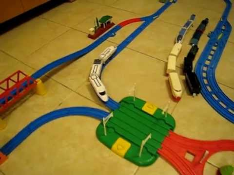 Tomy Tomica Hypercity ultra fast train