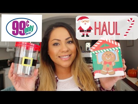 Christmas 99 Cent Only Store Haul