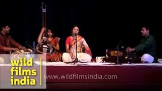 Priyanka Gope sings at International Musical Festival in Delhi