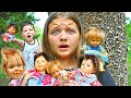 CREEPY DOLLS IN THE WOODS! Aubrey & Caleb Find THE DOLLS OF THE WOODS (SCARY) IS THE DOLL MAKeR BACK