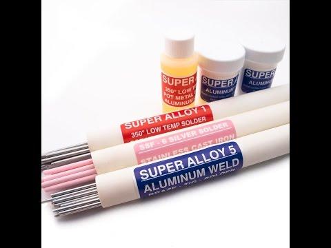 Aluminum Welding, Cast Iron Welding, Pot Metal Repair, Silver Solder with MuggyWeld.com