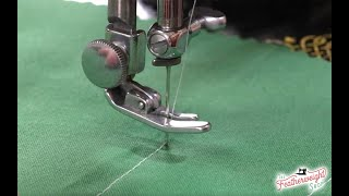 Getting to Know Your Featherweight, How To Turn A Corner - Part 6