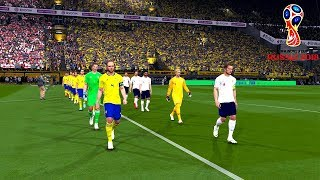 Sweden vs England   FIFA World Cup Russia 7 July 2018 Gameplay