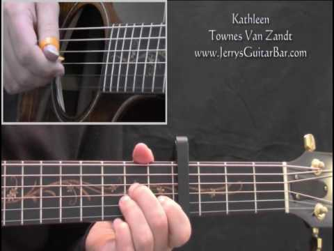 How To Play Townes Van Zandt Kathleen (intro only) mp3