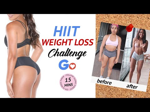 HIIT WEIGHT LOSS CHALLENGE! 20 Minute Fat Burning HIIT Workout at Home | No Excuse Challenge Day 1