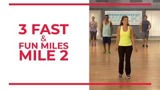 3 fast fun miles mile 2 walk at home fitness videos