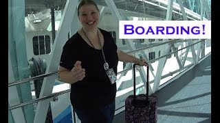 Boarding the Norwegian Escape - Sea Cruisers Group Cruise! [VLOG ep3]