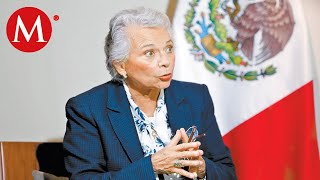Olga Sánchez Cordero lamenta ataque a policías en Michoacán