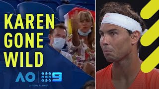 Rafael Nadal v Heckler | Wide World of Sports