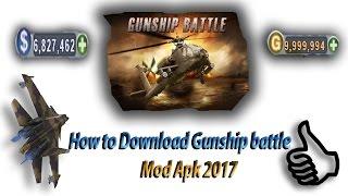 How To Download Gunship Battle|Mod Apk|Free Gold