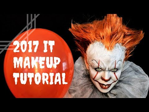 It Pennywise Makeup Tutorial