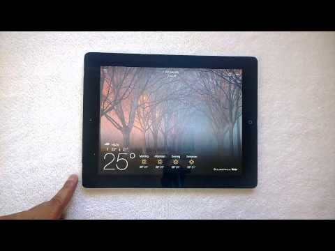 Yahoo Weather For IPad  Review