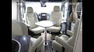 2014 5 Airstream Interstate 3500 24' Extended Lounge 9 Passenger Mercedes Benz Sprinter Van