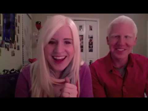 dating albino woman