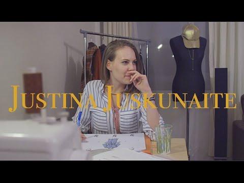 Sit down Interview with Fashion Designer Justina Juskunaite