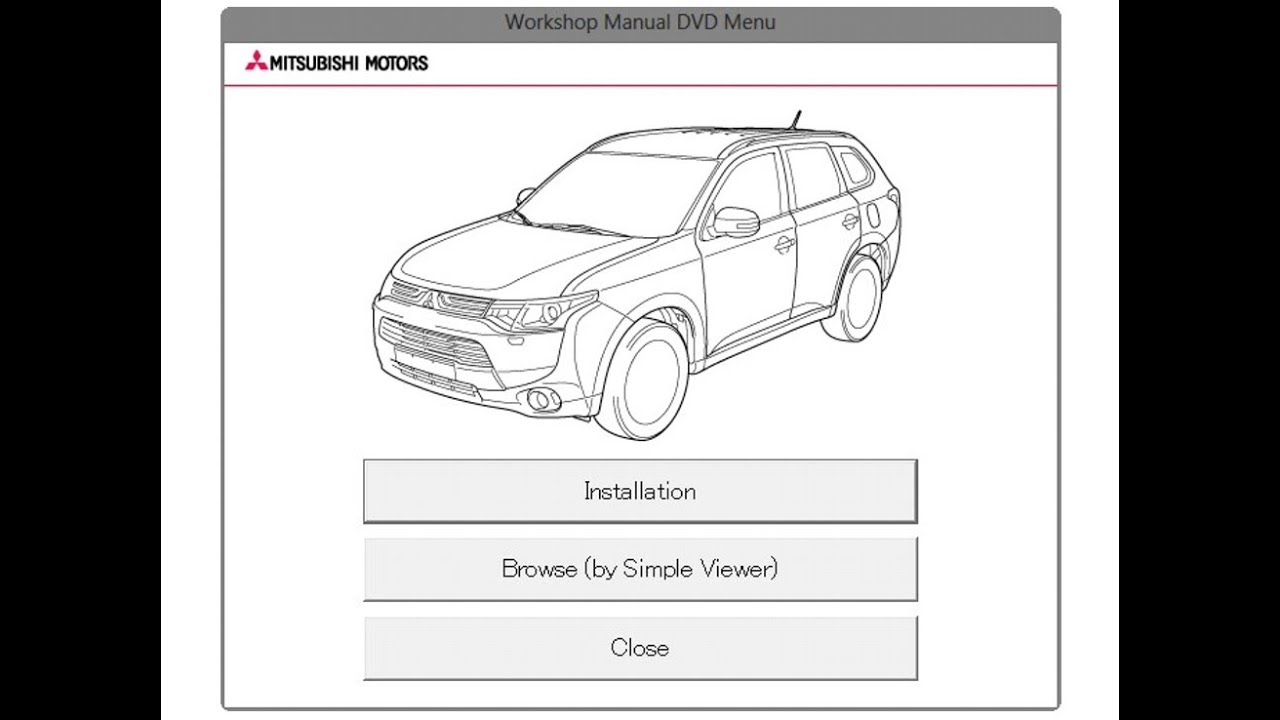 Mitsubishi Outlander Phev  Gg  - Service Manual    Repair Manual - Wiring Diagrams