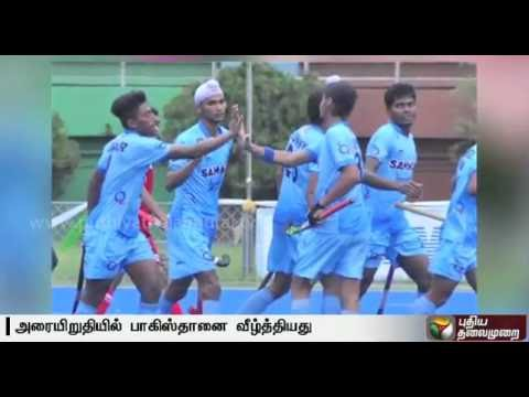 India thrash Pakistan 3-1 in Hockey U-18 Asia Cup, Enter Final