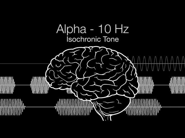 'Serotonin Release & Wakefulness' Alpha Isochronic Tone - 10Hz (1h Pure | 432Hz Base)