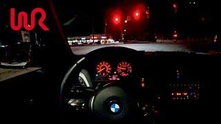 2016 BMW M235i Manual RWD - Tedward Night POV Test Drive (Binaural Audio)